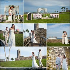 Get Married At The St Augustine Fort Weddings In Florida