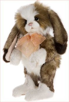 CHARLIE BEARS ANNABELLE RABBIT CB17036 CHARLIE BEARS, PLUSH CB CBCB Fully jointed plush rabbit<br>Collectors item not suitable for children under 3 years<br><br>