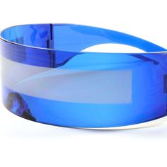 ce75b62205 Space Robot Party Rave Costume Cyclops Futuristic Novelty Blue Sunglasses  B6D  KISS  Futuristic Futuristic