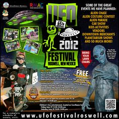 Roswell UFO Festival-A great place to crash! Costume Contest, Area 51, Festival Party, New Mexico, Ufo, Great Places, Festivals, Activities For Kids, To Go