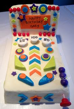 pinball cake - Google Search
