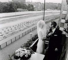 Berlin Wall Wedding.