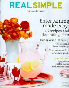 This magazine is KEY for tons of affordable decorating ideas, recipes, and DIY projects.