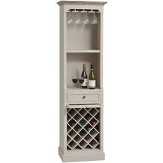 Tall Antique White Drinks Cabinet – Allissias Attic & Vintage French Style I need this!!!!