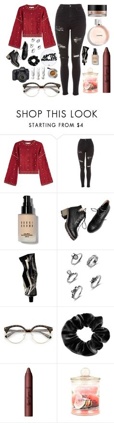 """""""Untitled #569"""" by maria143sara ❤ liked on Polyvore featuring Jonathan Simkhai, Topshop, Arbonne, Bobbi Brown Cosmetics, Aesop, claire's, tarte and Eos"""