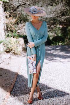 Look invitada boda: vestido-batín Invitadas, Sin categoría - Confesiones de una Boda