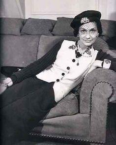 Circa 1938 - Coco Chanel