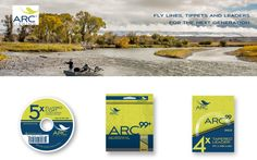 Unique isn't a word that normally comes to mind when thinking of fly lines and tippet.  Arc products, however, seem to be just that...