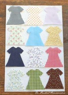 """A Gift a Day: Day Nineteen--Felt """"Paper"""" Dolls and a Giveaway - The Prudent Homemaker Blog"""