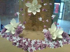 Origami Flowers by [kmj], via Flickr