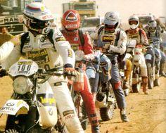 Paris dakar 1983 Auriol, Neveu, Olivier.... http://www.rallye-tenere.net