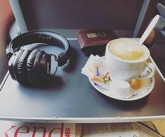 Výlet do Brna #cd #ceskedrahy #railjet #capuccino #coffee #marshall