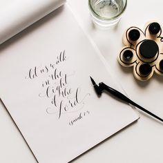 rachelanne.co modern calligraphy and lettering pointed oblique pen #moderncalligraphy