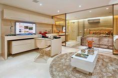Espelho bronze na decoração - veja ambientes lindos com essa tendência!