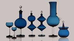 Nanny Still, Harlekiini glass series, Nordic Design, Scandinavian Design, Glass Design, Design Art, Glass Art, Sea Glass, Glass Birds, Glass Ceramic, Porcelain Ceramics