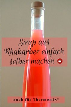 Getränke & Sirups Rhabarber Sirup # Rhabarber # Sirup # Thermomix Rezepte Why not Replace the Incand Whiskey And Ginger Ale, Ginger Ale Cocktail, Rum Cocktail Recipes, Cranberry Juice Cocktail, Cocktail Party Food, Ginger Beer, Cocktail Drinks, Spring Cocktails, Rhubarb Syrup