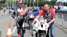 Dunlop brothers face stiff opposition at Armoy road races