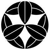 竹中半兵衛の家紋「九枚笹紋」