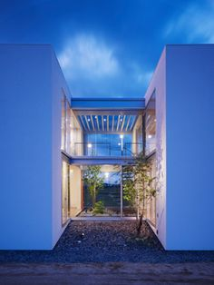 House in Ehime, Japan by Hayato Komatsu Architects.