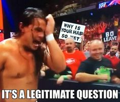 The fans have a legitimate question for Bo Dallas.
