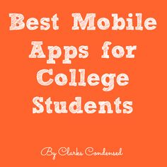 In the age of smart phones and iPads, the market for making apps for college students is booming. It was toward the end of my college career that tons of h
