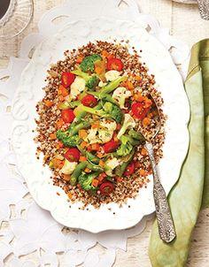 Cuscuz de quinoa com legumes - NUTRIÇÃO - Viva Saúde