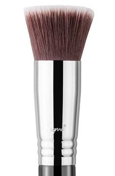 Free shipping and returns on Sigma® F80 Flat Kabuki™ Brush at Nordstrom.com. Sigma F80 Flat Kabuki Brushfeatures a soft, dense, flat top brush head. Made with exclusive Sigmax® fibers, this brush provides a flawless, high-definition finish when paired with anyliquid or cream foundation, without any absorption of product. The Sigmax fibers feature premium filaments engineered for outstanding softness, heat- and chemical-resistance, mechanical strength and durability. They are antibacterial…