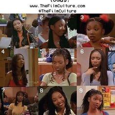Black 90s Fashion, Fashion Tv, Hip Hop Fashion, Micro Braids Hairstyles, 90s Hairstyles, Haircuts, Black Girl Aesthetic, 90s Aesthetic, High School Hairstyles