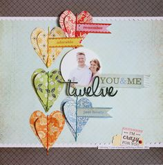 twelve by Nicole Samuels Love the hearts + stitching