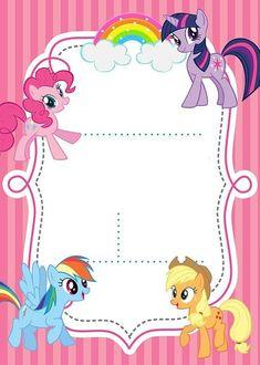Trendy ideas birthday invitations ideas my little pony Rainbow Dash Birthday, Rainbow Dash Party, My Little Pony Birthday Party, My Little Pony Cumpleaños, Cumple My Little Pony, Little Poney, My Little Pony Invitations, Birthday Invitations, Birthday Cards