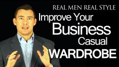 Here is a great video full of tips for guys out there looking to improve their business casual look. Don't be discouraged by the length of the video, the tips you'll learn are well worth it!