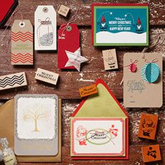 Holiday Cards & Tags Workshop