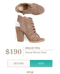 DOLCE VITA Amina Woven Sandal from Stitch Fix.  https://www.stitchfix.com/referral/4292370