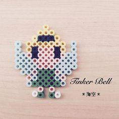 Tinker Bell perler beads by kaisora0_0