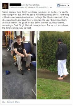 bra What This Man Did for a Bus Rider in Need Will Make Your Day