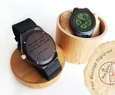 Mountain Bike watch, personalised at the back. Comes with a free bicycle bracelet and makes a unique gift for true cyclists.