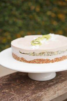Raw Feijoa and Kiwifruit Cake Dairy free, gluten free, refined sugar free. Ascension Kitchen