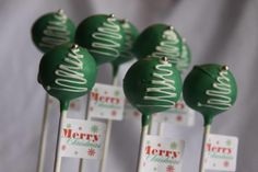 Christmas Cake Pops Check out www.sealedbysanta.com :)