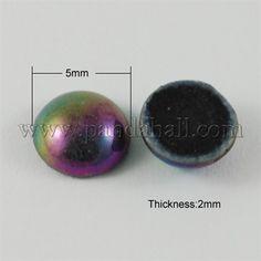 Glass CabochonsGGLA-Q021-2-1