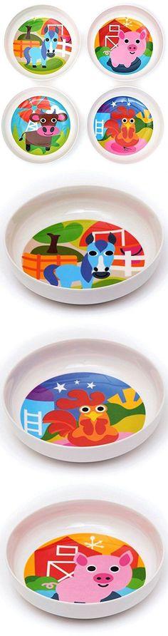 Eating and Drinking 115715: French Bull - Bpa Free Kids Bowls - Melamine Kids Bowl Set - Kids Dinnerware - -> BUY IT NOW ONLY: $39.99 on eBay!