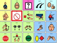 Core vocabulary. There are some WONDERFUL downloadable ready-made manual communication boards available in Boardmaker and PDF format on this site. Yippee! Repinned from SOS Inc. Resources.