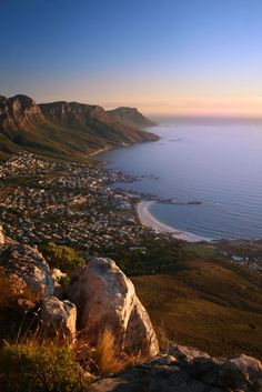 Camps Bay - South Africa. Can't believe the trip is 2 months away!!