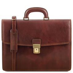 Amalfi - Leather Briefcase 1 Compartment - Lilly is Love Briefcase For Men, Leather Briefcase, Leather Bag, Amalfi, Classic Leather, Italian Leather, Vegetable Tanned Leather, Leather Jewelry, Laptop Bag