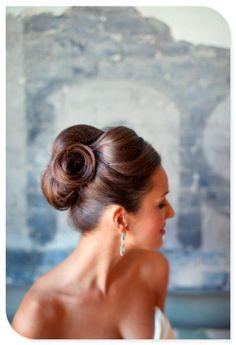 wedding hair for mom