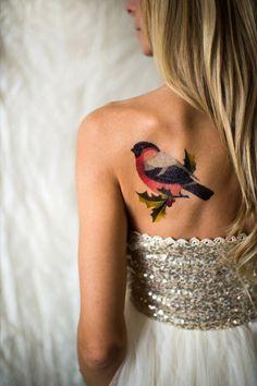 Des tattoos colorés beaux comme des tableaux