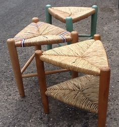 Three Legged Stool - Learn from John Excell at the 2014 Stowe Basketry Festival!