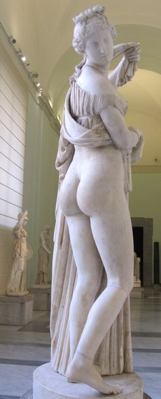 #Venus #Callipige. National Archaeological Museum of Naples. Farnese Collection. Wikipedia