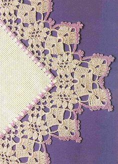 crochet edging  #@Af's collection