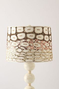 love these lampshades, SO pretty in person with their sequins! :)
