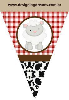 La Granja Bebés: Imágenes, Fondos e Imprimibles Gratis para Fiestas.